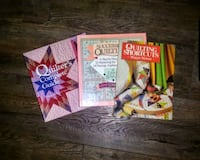 Set of 3 Quilting Books Chattanooga