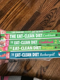 Tosca Reno Eat Clean Diet books