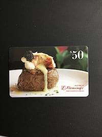 Fleming's Gift Card $50 Norristown, 19403