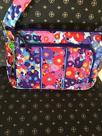 Vera Bradley Little Hipster Crossbody Bag Impressionista Retired