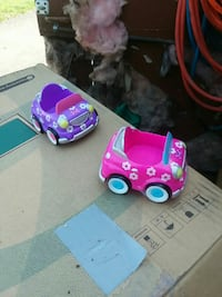two purple and pink toy cars Hagerstown, 21740