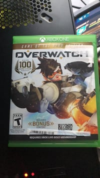 Xbox One Overwatch game of the year edition Leesburg, 20175