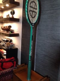 4 1/2 foot tall squash racket signed Mississauga, L5J 2Z4