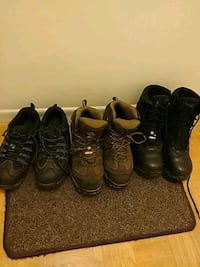 Men safety boots.
