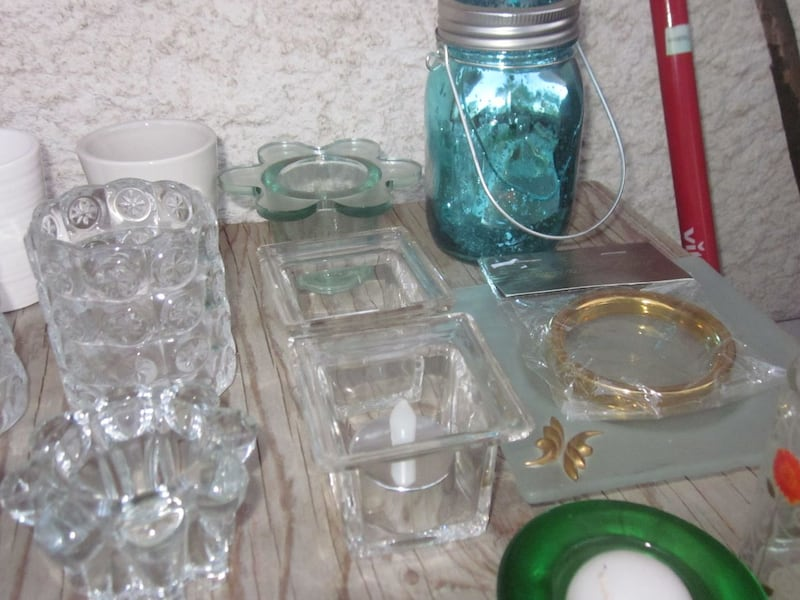Lot of 27 Candle and Tealight Candle Holders   2d363959-7e37-4c69-941d-a12ee59a4843