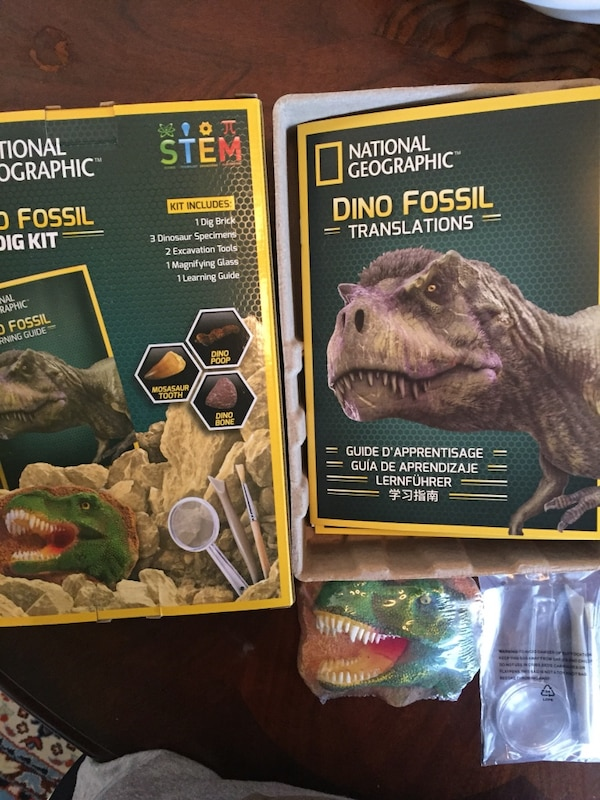 National Geographic Dino Fossil Kits