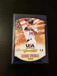 George Springer Rookie Card - Free Shipping