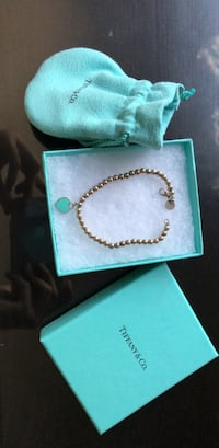 Tiffany n Co heart bracelet Edmonton, T6L 6N9
