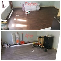 Floor repair Langhorne