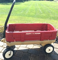 Wagon / Radio Flyer. Can also use as a lawn cart