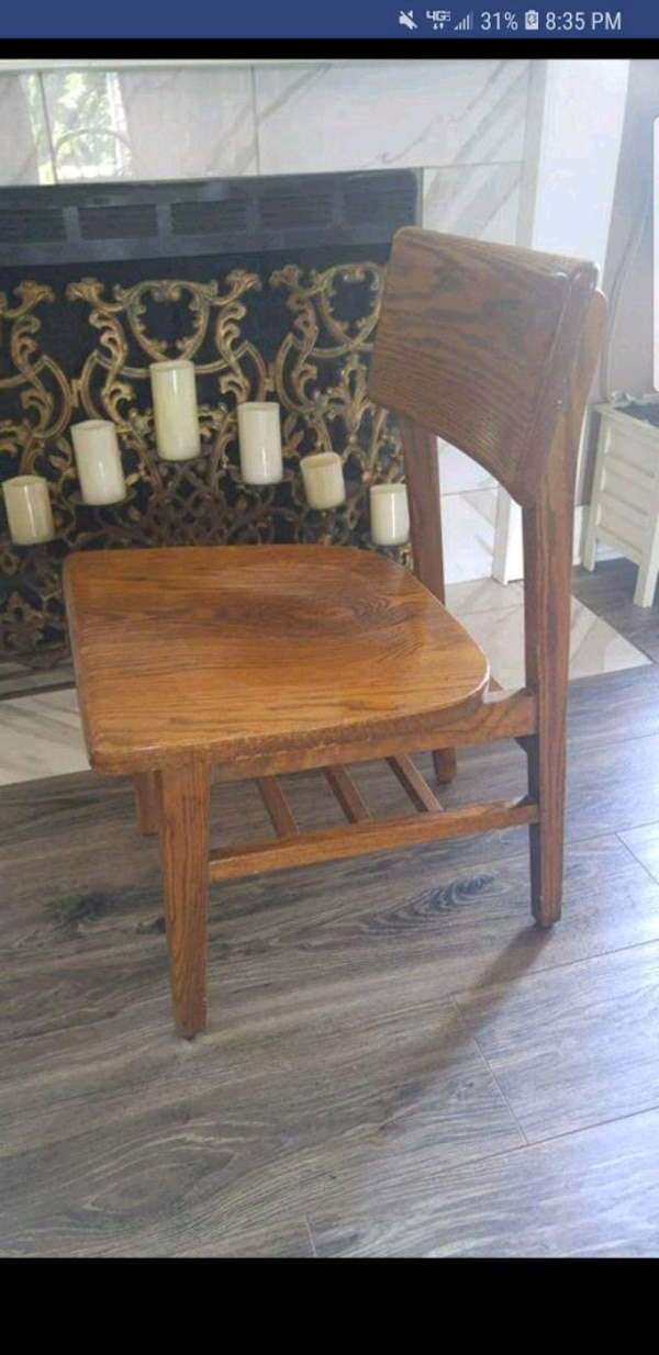 Vintage Solid Wood Chairs