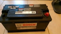black and blue Super Start car battery Mississauga, L5N 2E1
