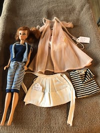 Vintage Barbie items (Ponytail Midge) from late 1950's to early 1960's King George, 22485