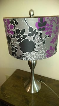 white and purple floral table lamp Kissimmee, 34746
