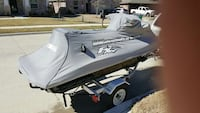 gray personal watercraft cover