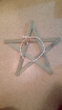 Teal star decoration