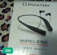 black Phiaton wireless headset box Hercules, 94547
