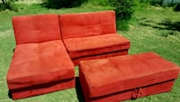 Red Sectional with Storage El Paso, 79915