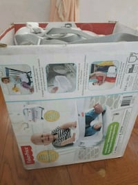 two white and gray travel cot boxes Edmonton, T5X 3W7