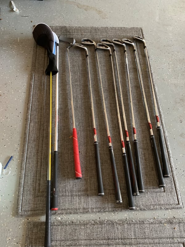 Golf set right hand with Bag and cover 5a4f9fbe-d943-4921-86ff-40a8fc6b8f0e