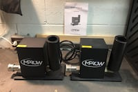 CO2 Cannons MPROW CryoJet DMX 512 Pair