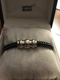 Montblanc bracelet limited edition sterling silver  Vienna, 22182