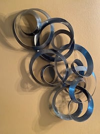 Metal Sculpture Art of Spirals