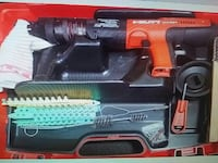 red and black Hilti cordless power tool