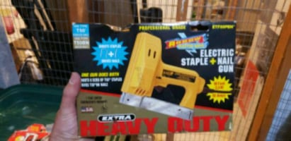 Arrow Electric Staple & Nail Gun