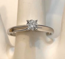 14k gold .25ct. diamond solitaire engagement ring *Compare at $1,500