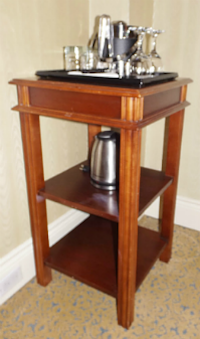 Plant stand / side table / towel stand. BARRIE