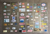 Collection of Vintage Oil&Gas Trades Hard Hat Stickers - 200+pcs Calgary, T2R 0S8