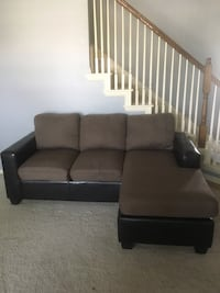 Brown Sectional Couch Glenn Heights, 75154