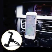 360° Smartphone Air Vent Clip Cell Phone Car Holder Windshield Mount Bracket Vancouver