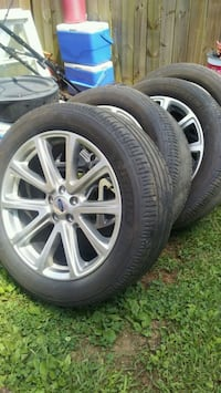 Michlin tires good condition. Ford wheels.truck or 250 mi