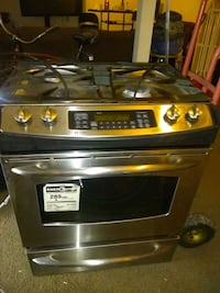 stainless steel and black induction range oven District Heights, 20747