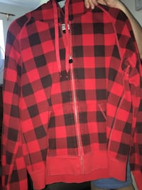 red and black checkered dress shirt Coquitlam, V3K 6C4