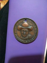 VINTAGE 1950'S ROY ROGER'S RIDERS LUCKY PIECE COIN Jacksonville, 28546
