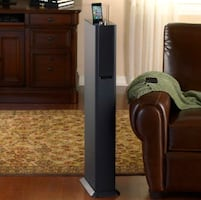 Tower Speaker System for iPod & iPhone Devices