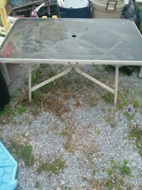Outside glass top table Hagerstown