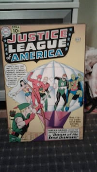 Justice League wall plaque