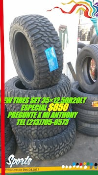 New Tires set  Los Angeles, 90033