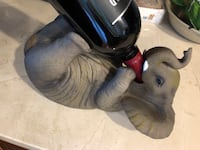 Elephant wine holder 38 km