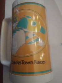 Charles Town Races Plastic Mug PURCELLVILLE