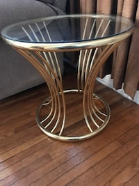 Brass frame glass top tables South-West Oxford, N4S