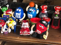 Assorted color collections of m&ms  Winnipeg
