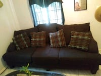 Ashley's furniture brown couch Shafter, 93263