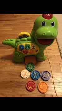 Vtech chomp and count dinosaur toy