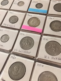 assorted  coin collection Surrey, V4N 3C6