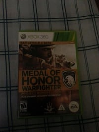 Medal of Honor Warfighter Xbox 360 game case El Mirage, 85335